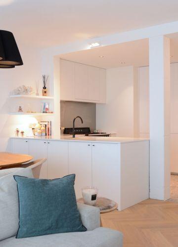 Appartement met een persoonlijke mix