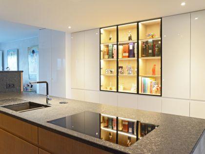 De keuken als centrum van het appartement