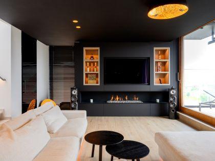 Een penthouse met een warm gevoel